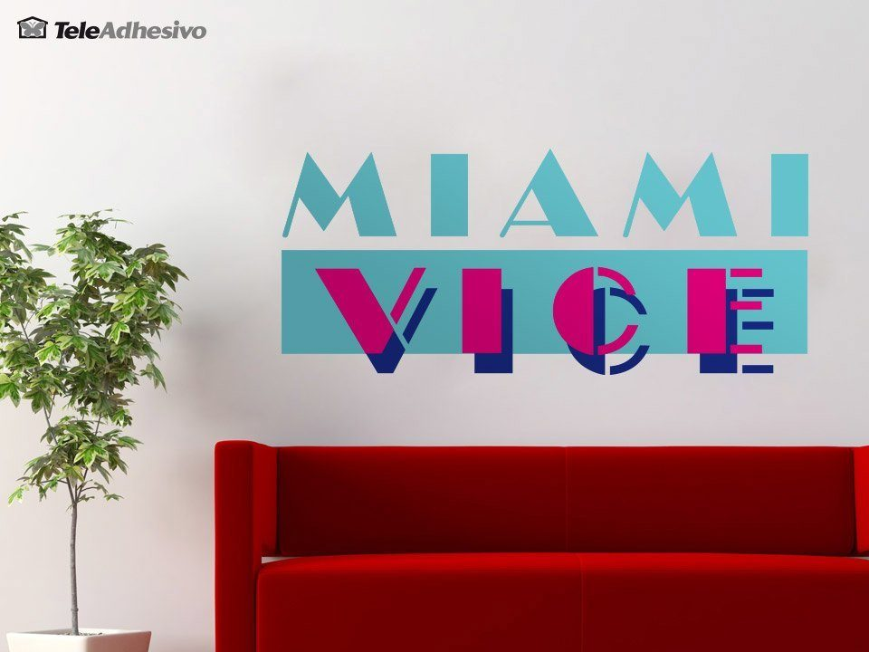 Wandtattoos: Miami Vice