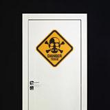 Wandtattoos: Heisenberg Danger Toxic Color 4