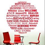 Wandtattoos: Willkommen auf Sprachen 3