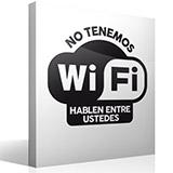 Wandtattoos: No tenemos wifi hablen entre ustedes 2