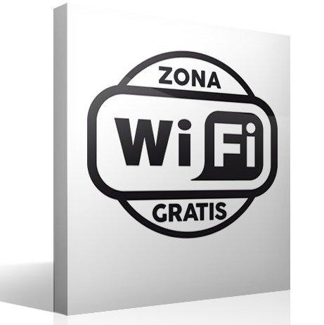 Wandtattoos: Free Wifi Zone