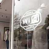 Wandtattoos: Free Wifi Zone 3