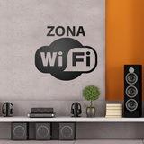 Wandtattoos: Zona Wifi 0