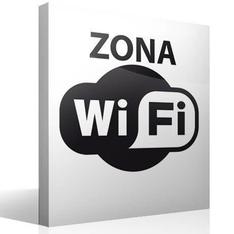 Wandtattoos: Zona Wifi