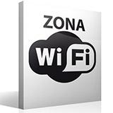 Wandtattoos: Zona Wifi 2
