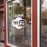 Wandtattoos: Zona Wifi 3
