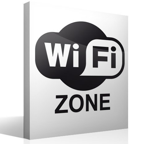 Wandtattoos: Wifi zone
