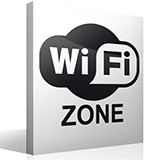 Wandtattoos: Wifi zone 2