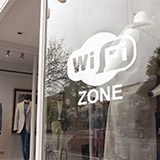 Wandtattoos: Wifi zone 3