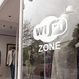 Wandtattoos: Wifi zone 2