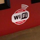 Wandtattoos: Zona Wifi Gratis - Pack 3 aufkleber 2