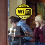 Wandtattoos: Zona Wifi Gratis 2 - Pack 3 aufkleber 4