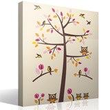 Wandtattoos: Baum, Vögel und Eulen 4
