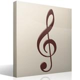 Wandtattoos: Im Violinschlüssel 3