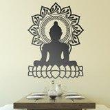 Wandtattoos: Buddha und Lotusblüte 2