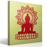 Wandtattoos: Buddha und Lotusblüte 3
