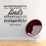 Wandtattoos: An enthusiastic heart... 0