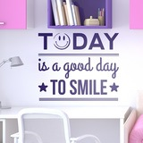 Wandtattoos: Today is a good day to smile 0