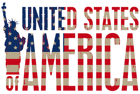 Wandtattoos: United States of America