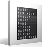 Wandtattoos: Airport Cities Tafel 4