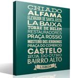 Wandtattoos: Typografische Lisboa 2