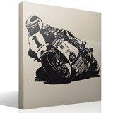 Wandtattoos: Racing Motorrad 3