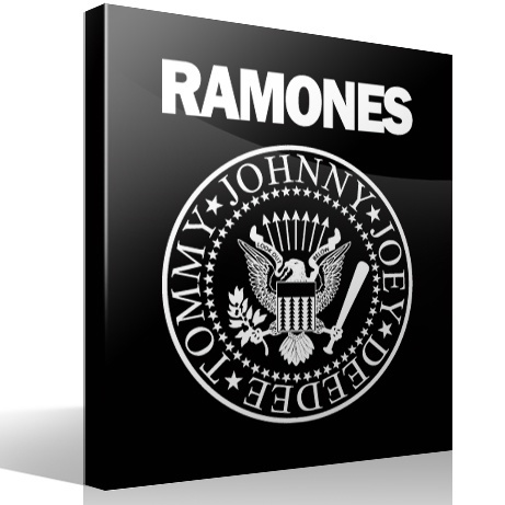 Wandtattoos: Ramones