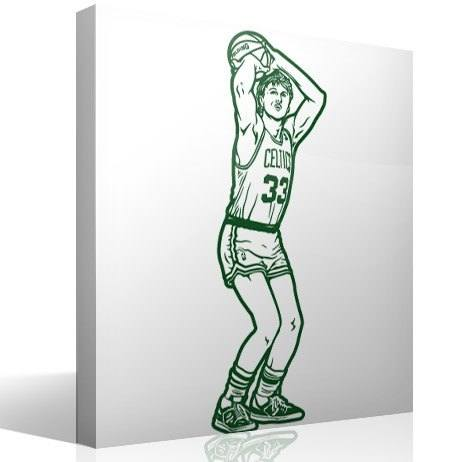 Wandtattoos: Larry Bird 2