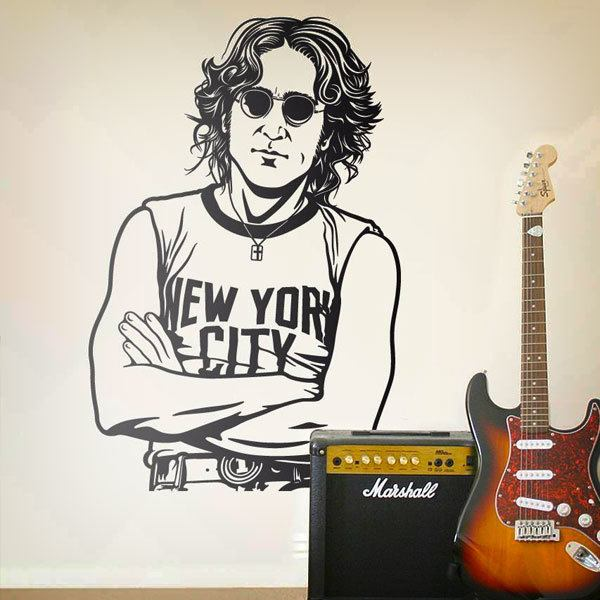Wandtattoos: John Lennon - New York City