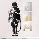 Wandtattoos: Banksy Graffiti Astronaut 2