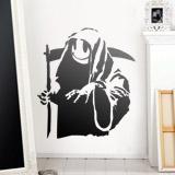 Wandtattoos: Banksy Happy Grim Reaper  1