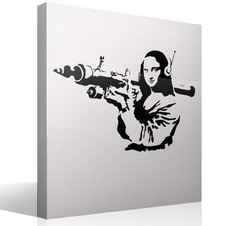 Wandtattoos: Gioconda Terrorist Banksy