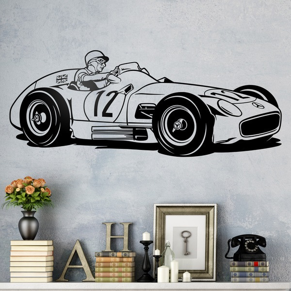 Wandtattoos: Mercedes-Benz W196