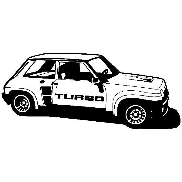 Wandtattoos: Renault 5 Turbo Cup
