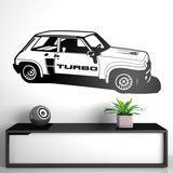 Wandtattoos: Renault 5 Turbo Cup 0
