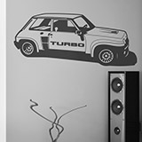 Wandtattoos: Renault 5 Turbo Cup 2