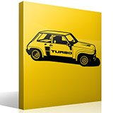 Wandtattoos: Renault 5 Turbo Cup 3