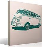 Wandtattoos: Volkswagen van Kalifornien 3