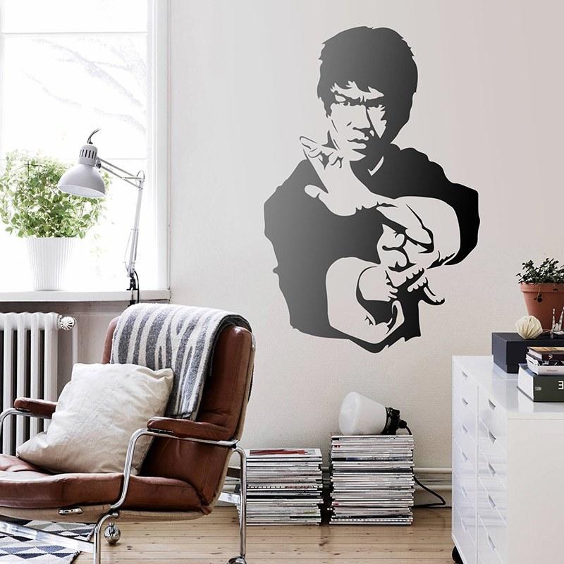Wandtattoos: Bruce Lee