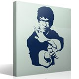Wandtattoos: Bruce Lee 3