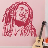 Wandtattoos: Bob Marley 2