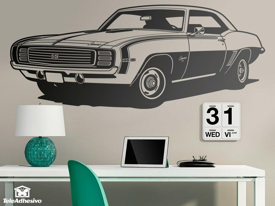 Wandtattoos: Chevrolet Camaro 1969 ss
