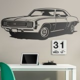 Wandtattoos: Chevrolet Camaro 1969 ss 2