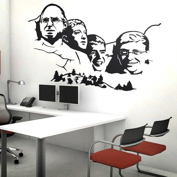 Wandtattoos: Mount Rushmore Geek