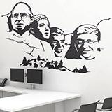 Wandtattoos: Mount Rushmore Geek 1