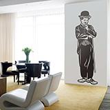 Wandtattoos: Charles Chaplin 2