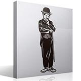 Wandtattoos: Charles Chaplin 3