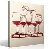 Wandtattoos: Arten von Rotwein 3