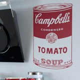 Wandtattoos: Campbell Soup 2