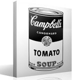 Wandtattoos: Campbell Soup 3
